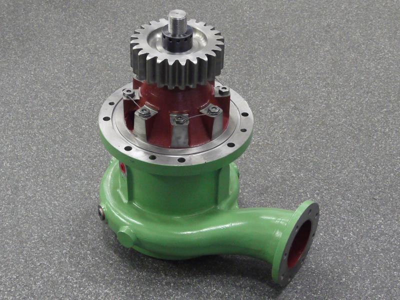 Cooling water pump | ZA40S | Sulzer | Products | Toes & Zn